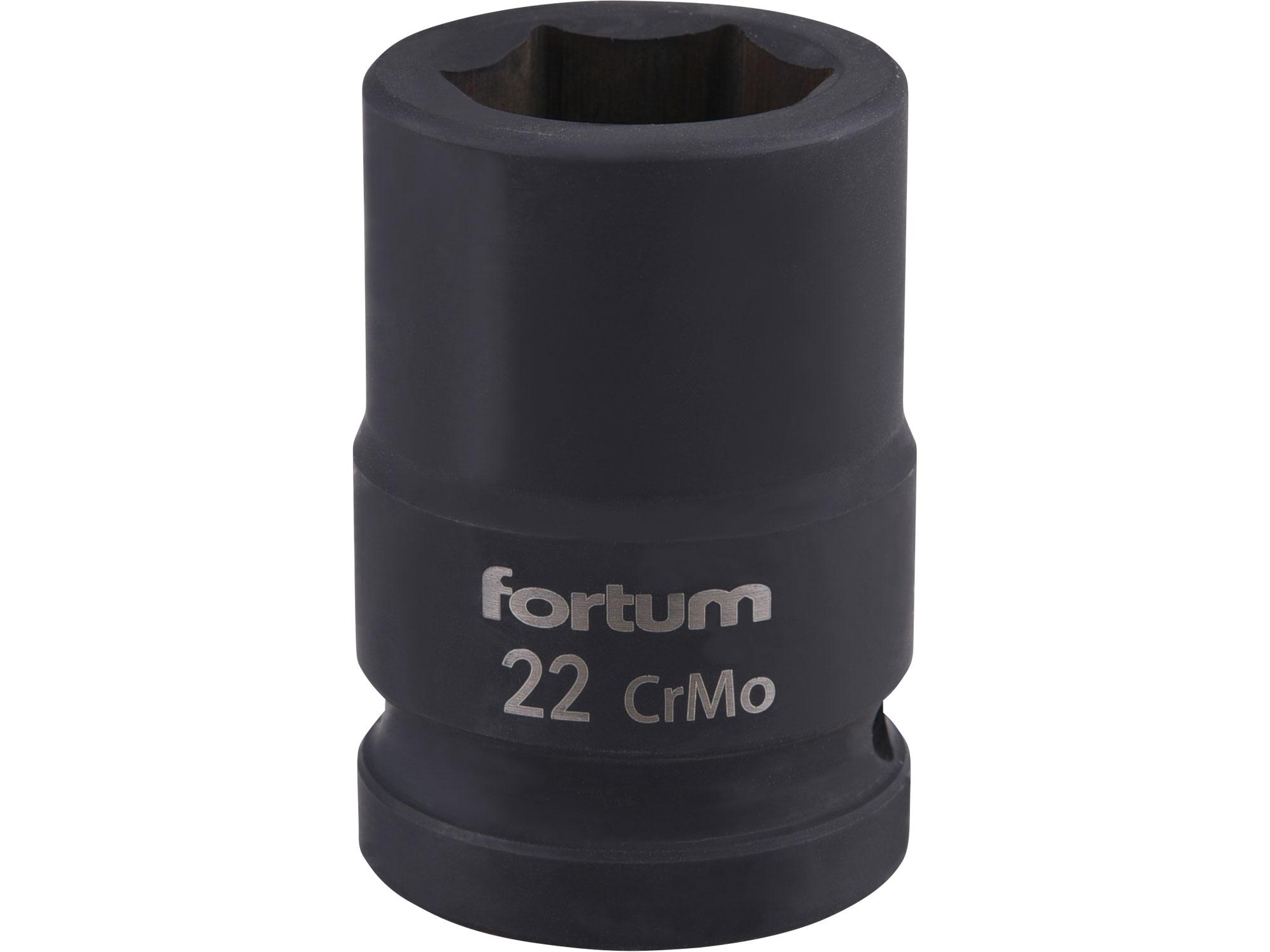 """hlavice nástrčná rázová 3/4"""", 22mm, L 52mm"""
