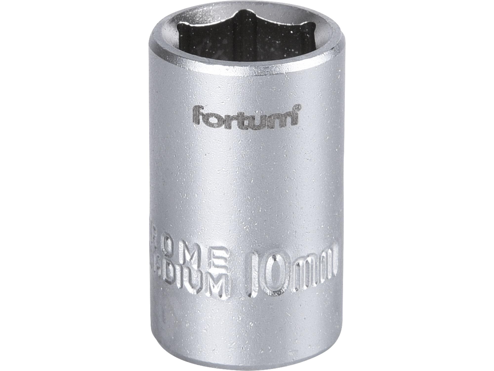 """hlavice nástrčná 1/4"""", 10mm, L 25mm"""