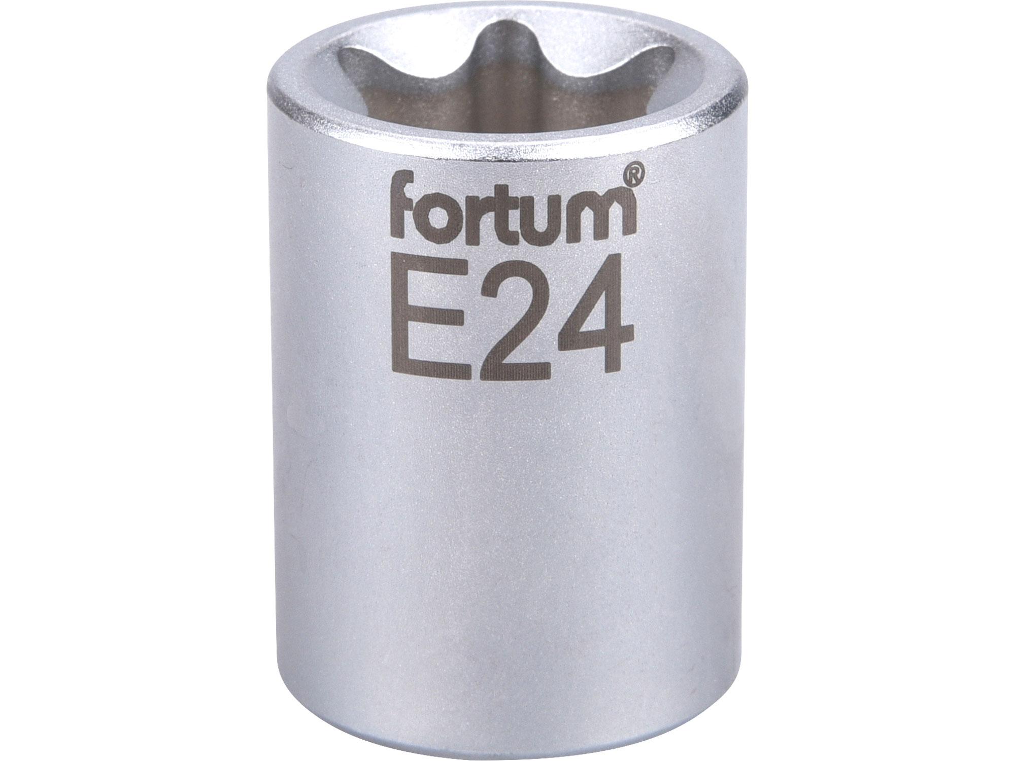"""hlavice nástrčná vnitřní TORX 1/2"""", E 24, L 38mm"""