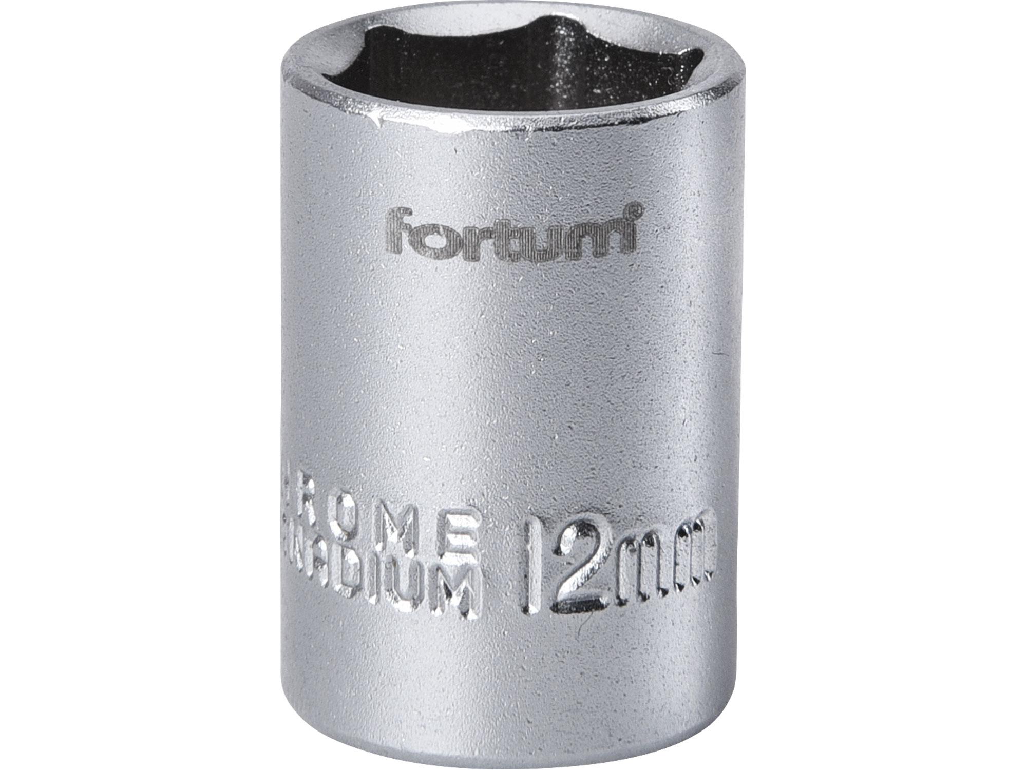"""hlavice nástrčná 1/4"""", 12mm, L 25mm"""
