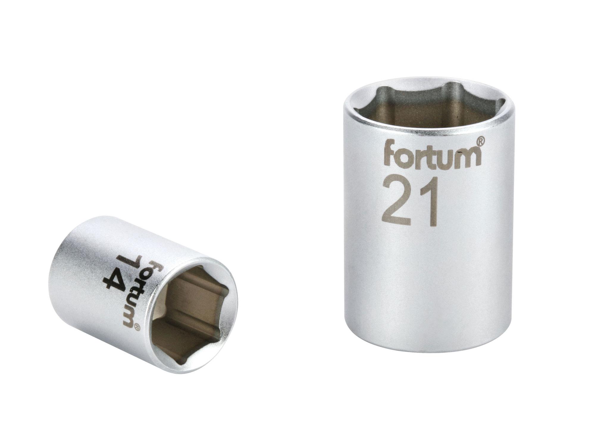 """klíč nástrčný, 1/4"""", 14mm, L 25mm, 61CrV5"""