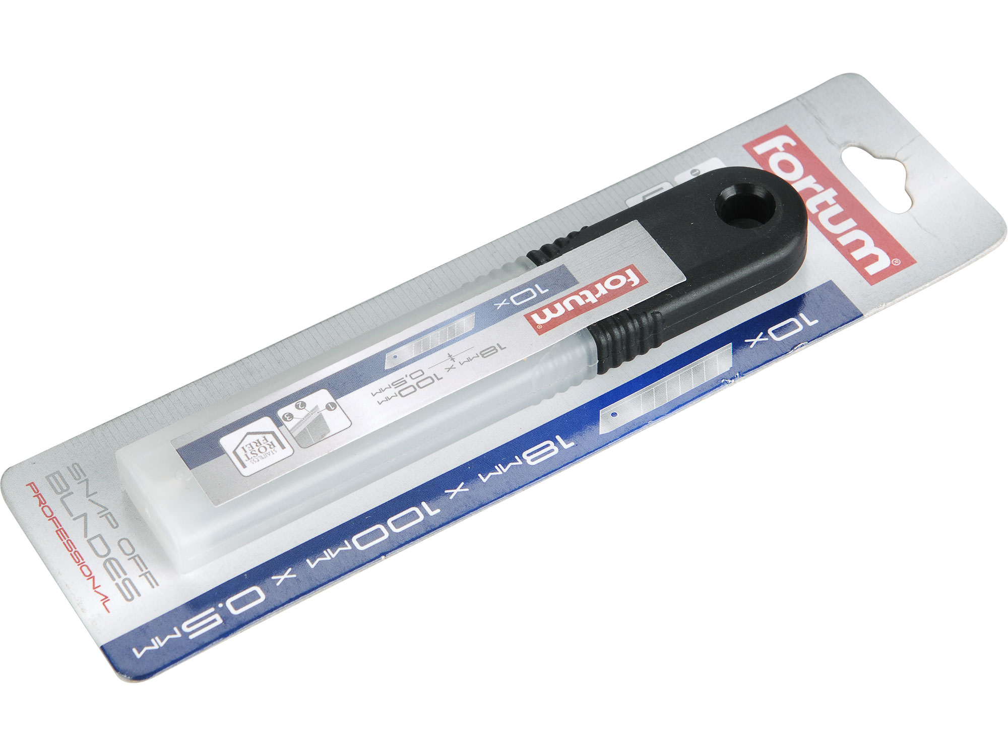 břity ulamovací do nože nerez, 18mm, 10ks
