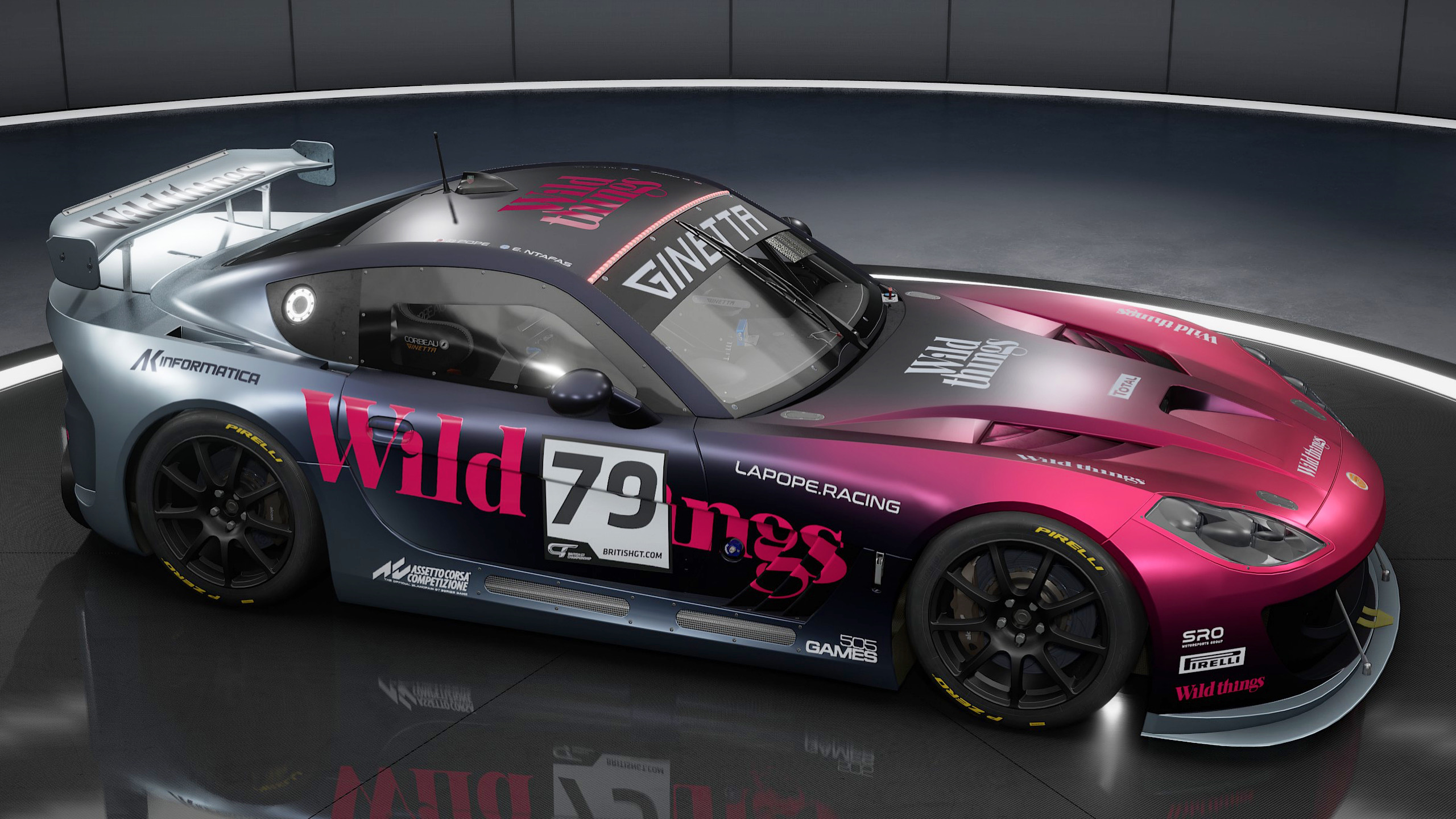 ACC Custom Livery Material Properties