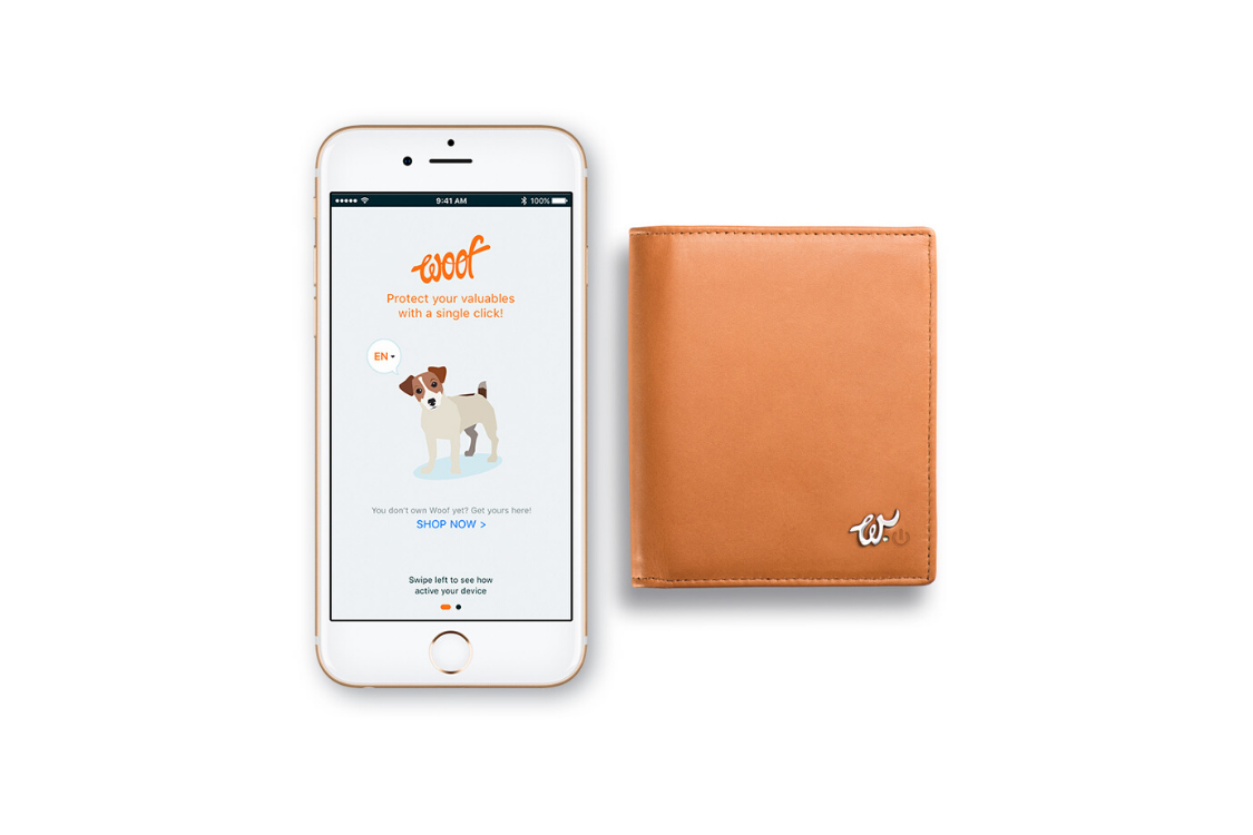 Smart Wallet antibacterial