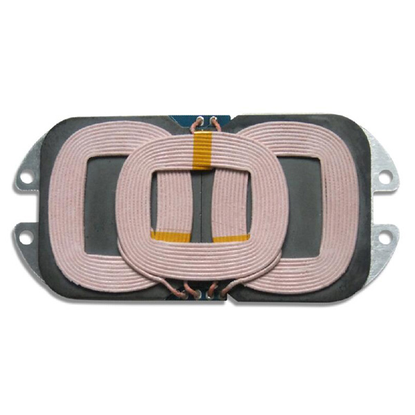 Qi15W Medium power 3 coils wireless fast-charging transmitter module