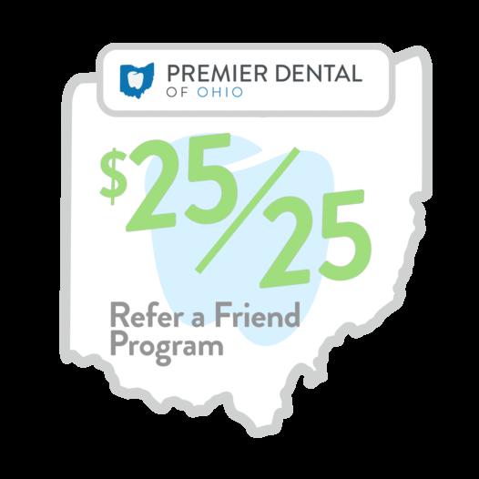 Refer a friend program: $25 for $25