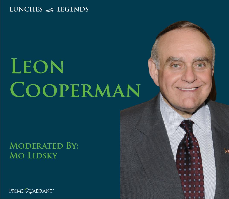 headshot of Leon Cooperman in a grey suit