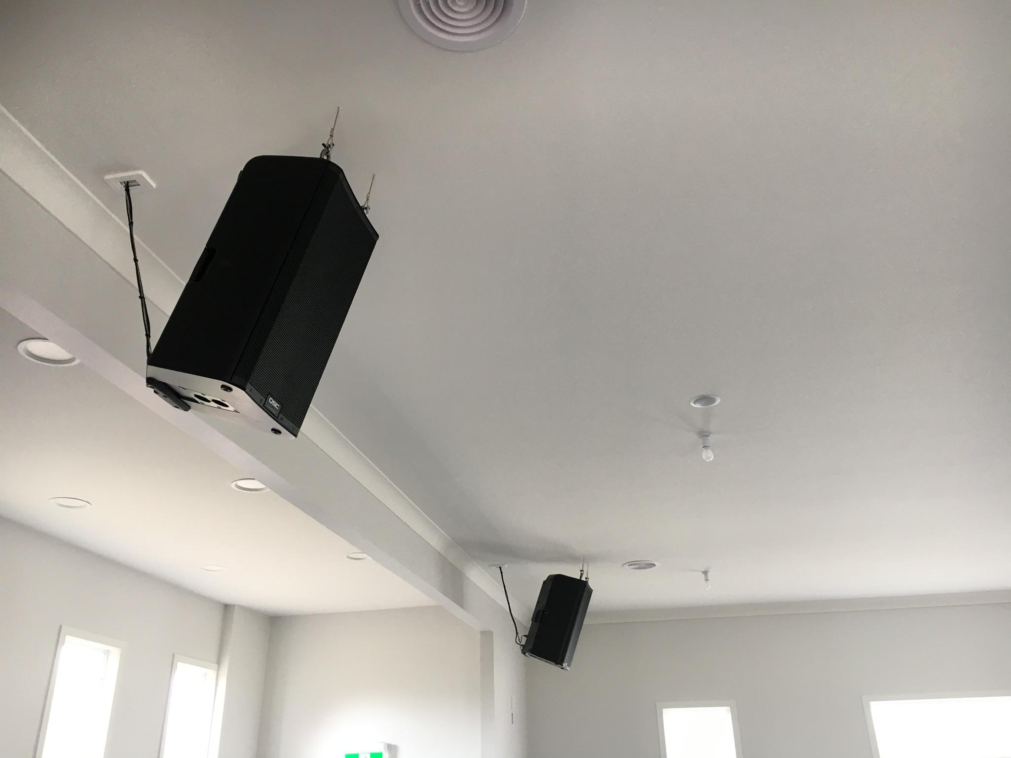 Audio Workshop  Church Installation Wellington