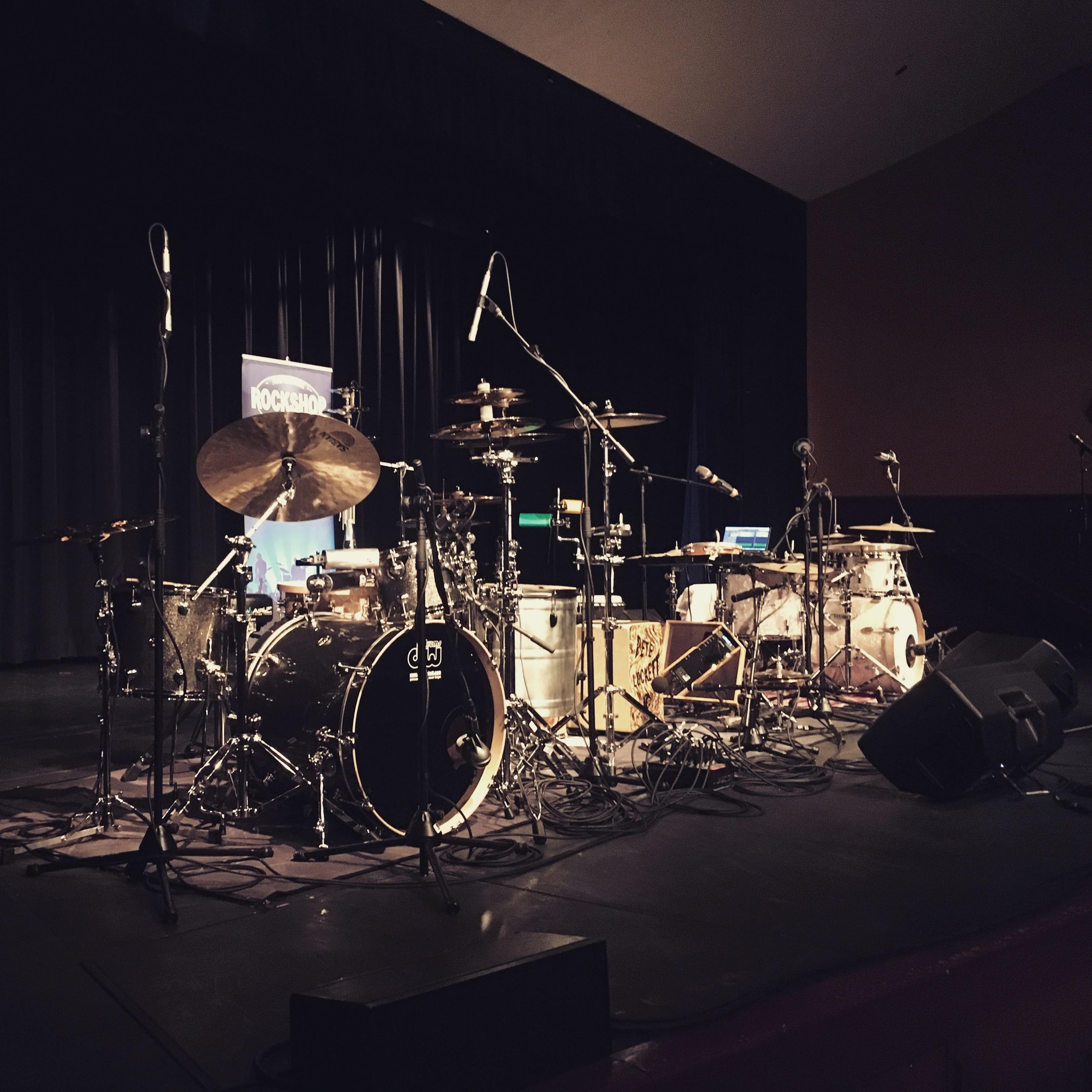 Audio Workshop Productions - Rockshop Drum Clinic Wellington