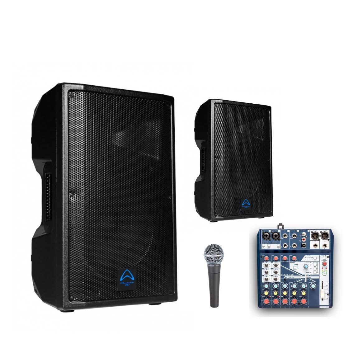 Audio Workshop Hire Package 2