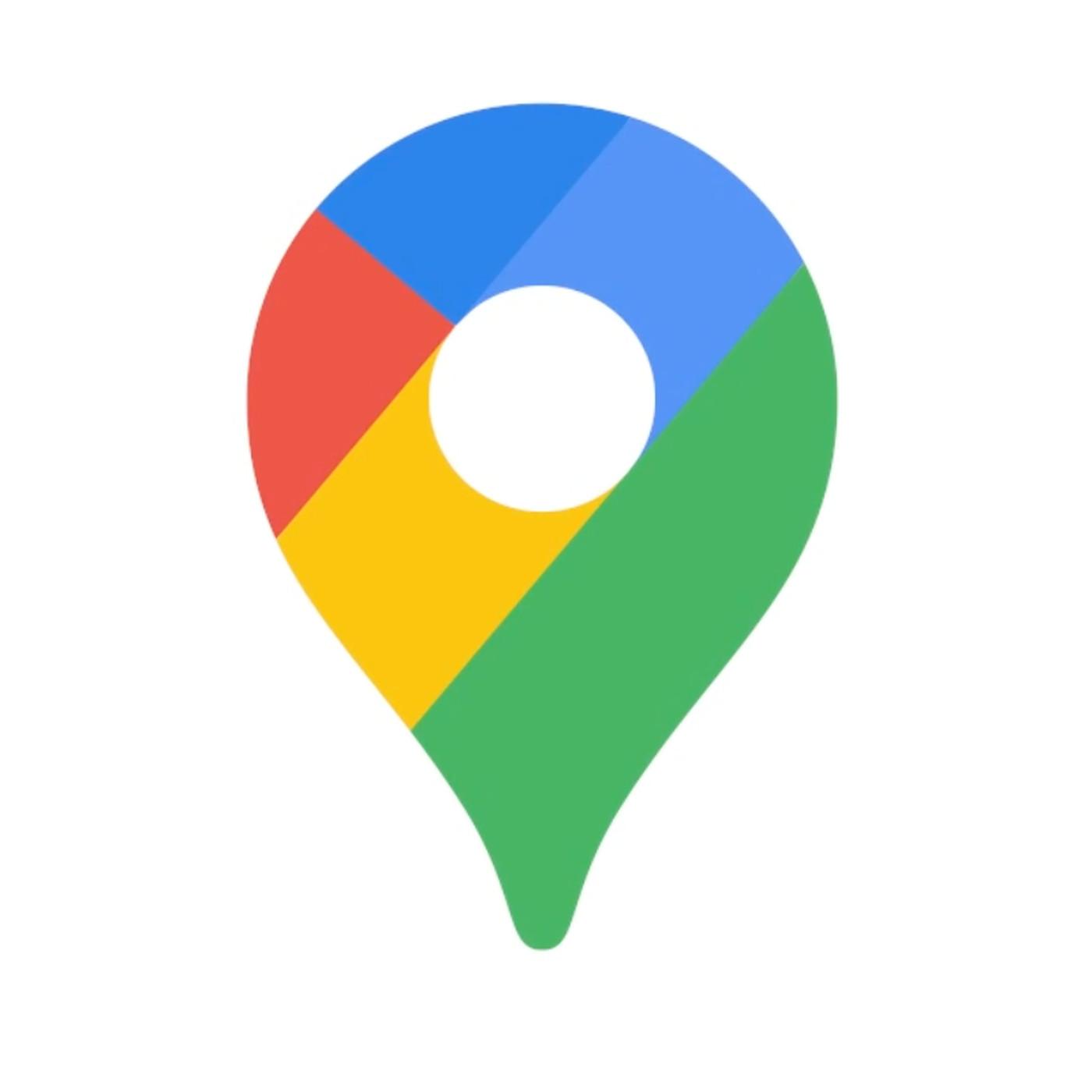 The Google Maps logo