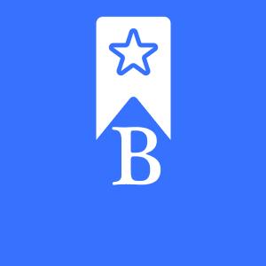 A B with a star as a logo for a mobile bus app