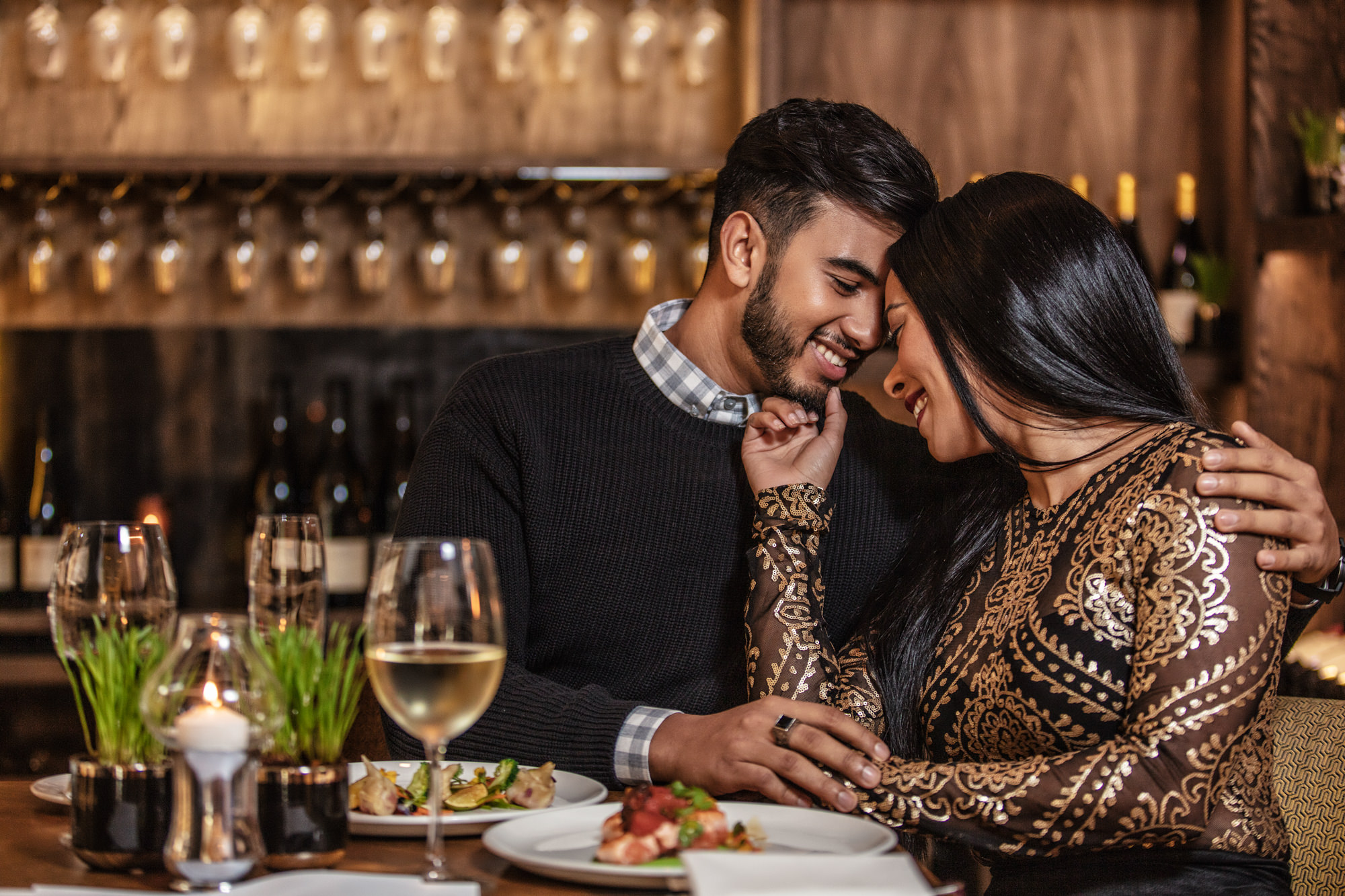 Image of man and woman wine tasting for date night at the Southern Sun The Cullinan Hotel for Tsogo Sun's Image Library & Content Library by Michelle Wastie Photography