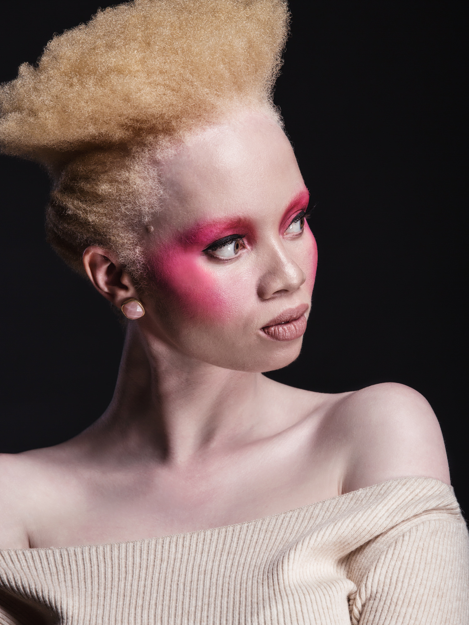 Portrait image of Thando Hopa for Destiny Magazine's Black Girl Magic feature by Michelle Wastie
