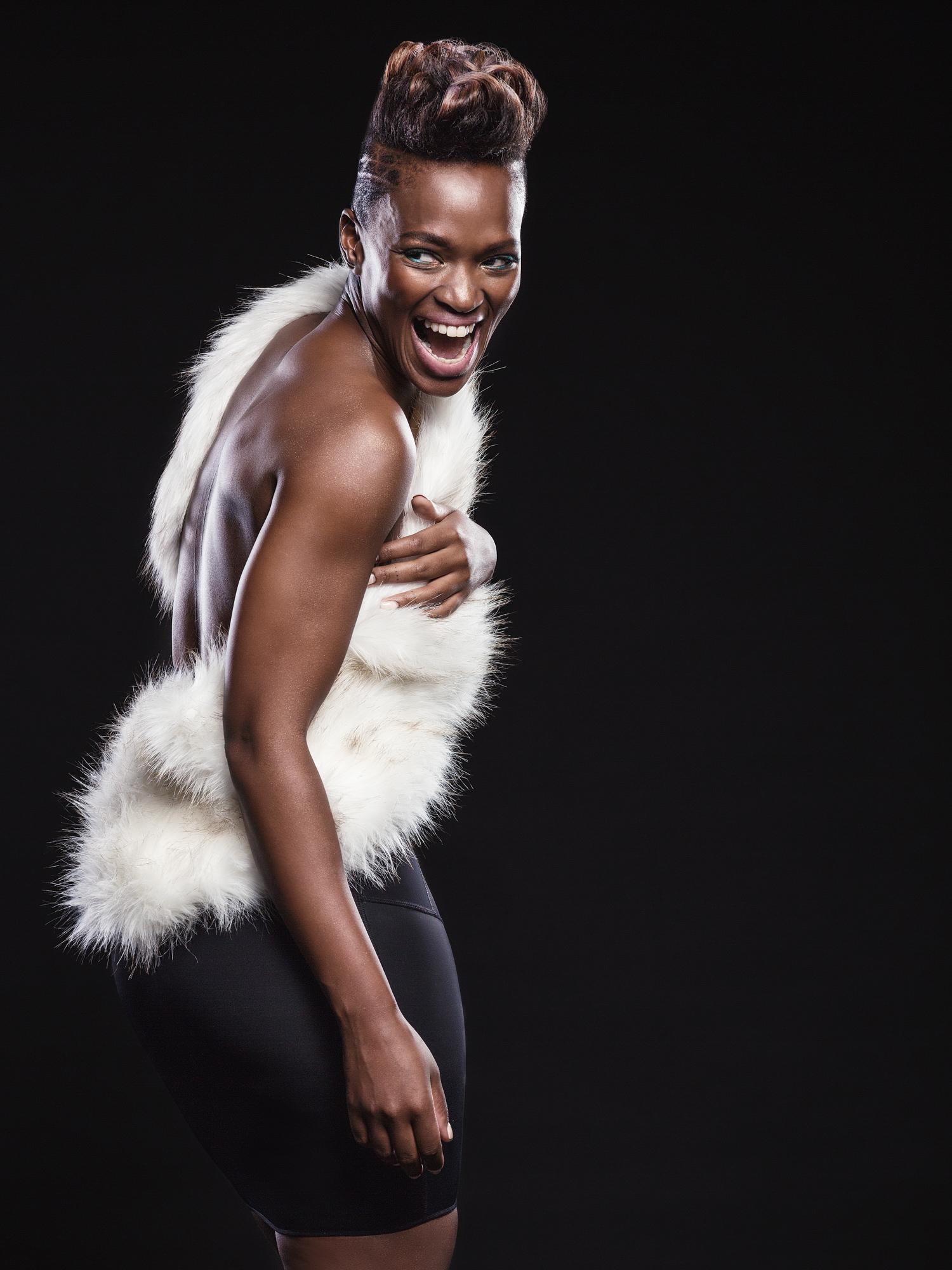 Portrait image of Fikile 'Fix' Moeti for Destiny Magazine's Black Girl Magic feature by Michelle Wastie