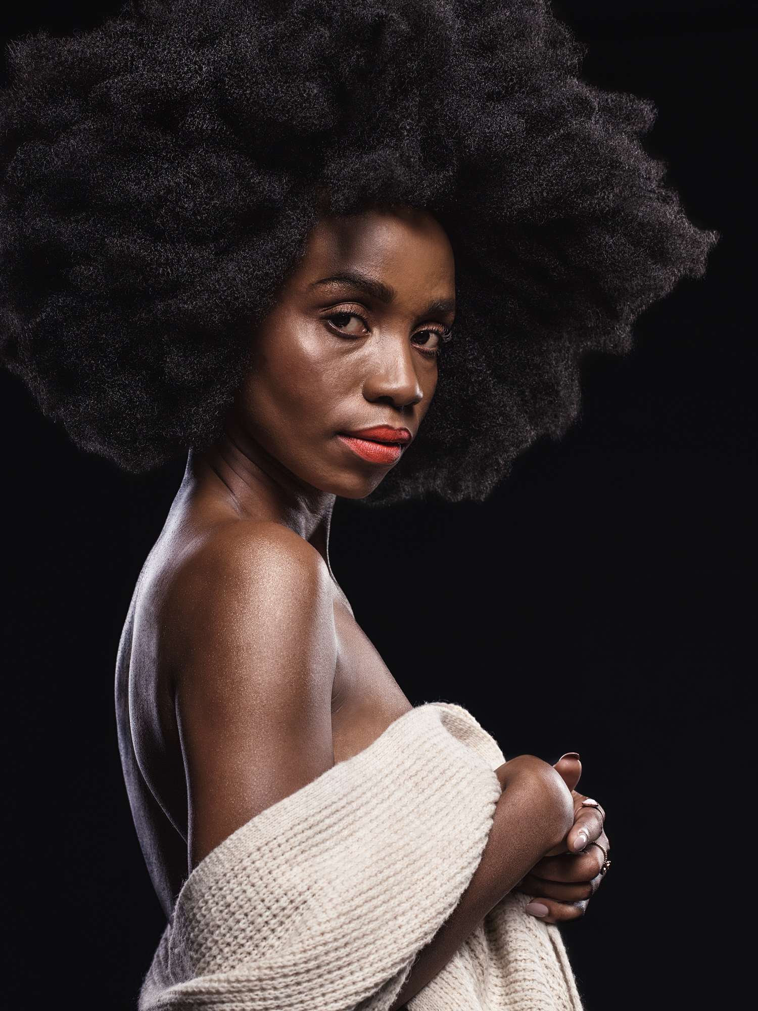 Portrait image of Loot Love for Destiny Magazine's Black Girl Magic feature by Michelle Wastie
