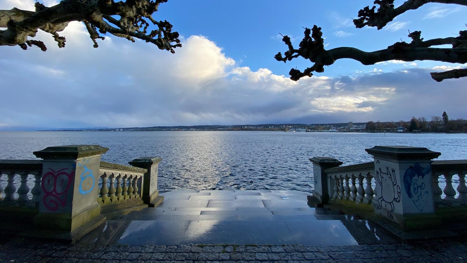 Der Bodensee liegt vor der Haustüre...