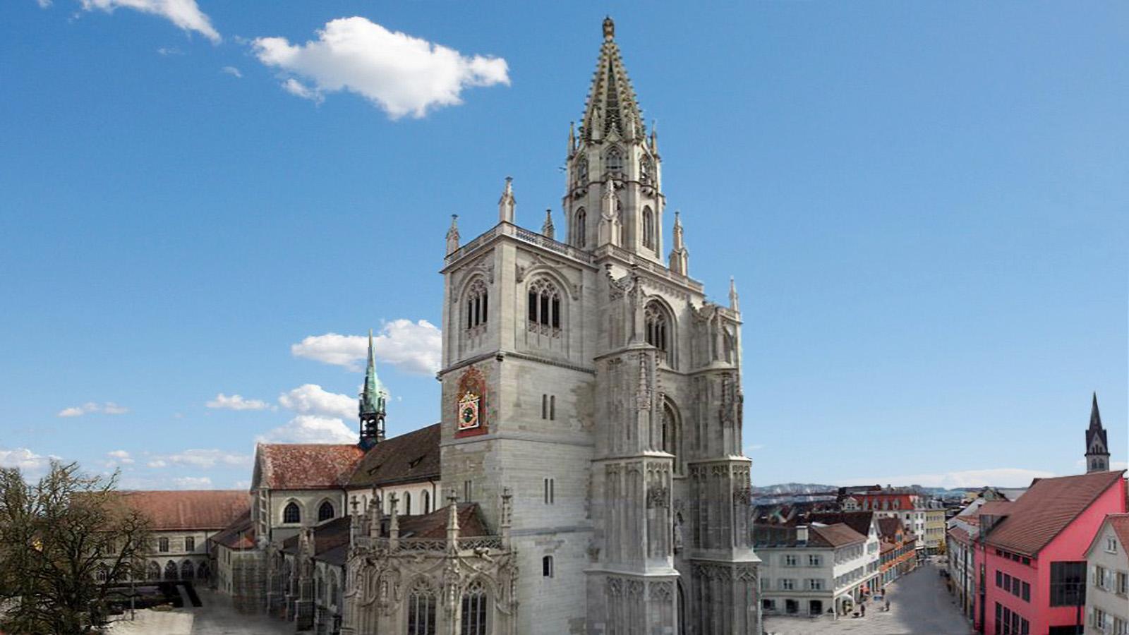 Konstanzer Münster in 10min. zu Fuß erreichbar - Ferienwohnung Roos Konstanz