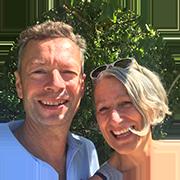 Frank Schmidt und Martina Roos begrüssen Sie gerne in der Ferienwohnung am Bodensee