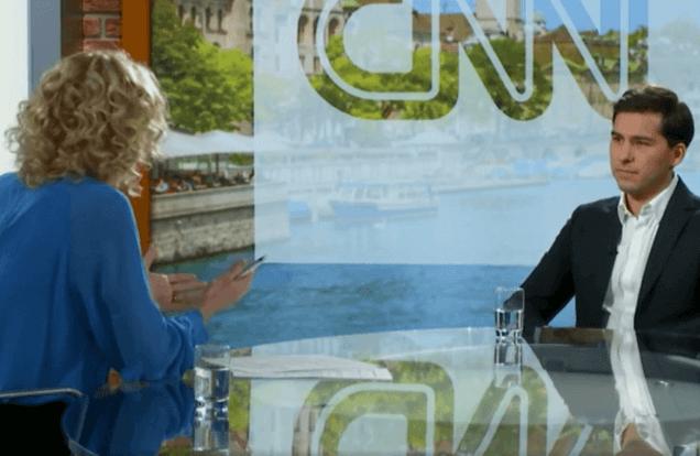 Marco Meister live auf CNN Money Switzerland