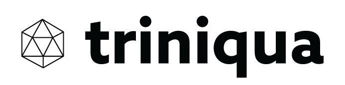triniqua logo with company name black