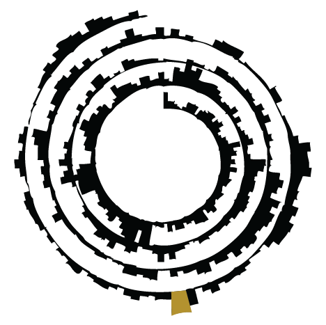 Icon with spiral plot