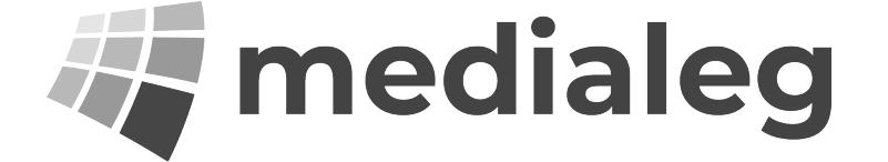This is a partner logo for medialeg.