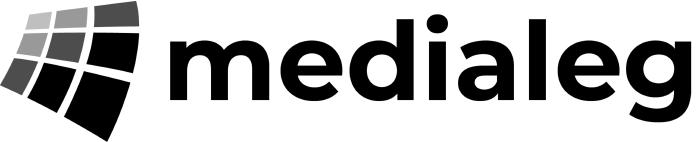 Logo medialeg black.