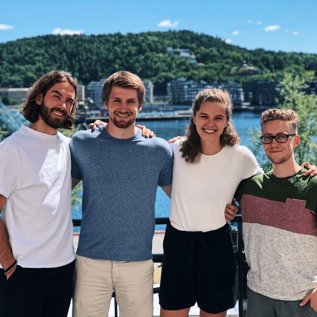 The 2018 Cloud Insurance summer interns.