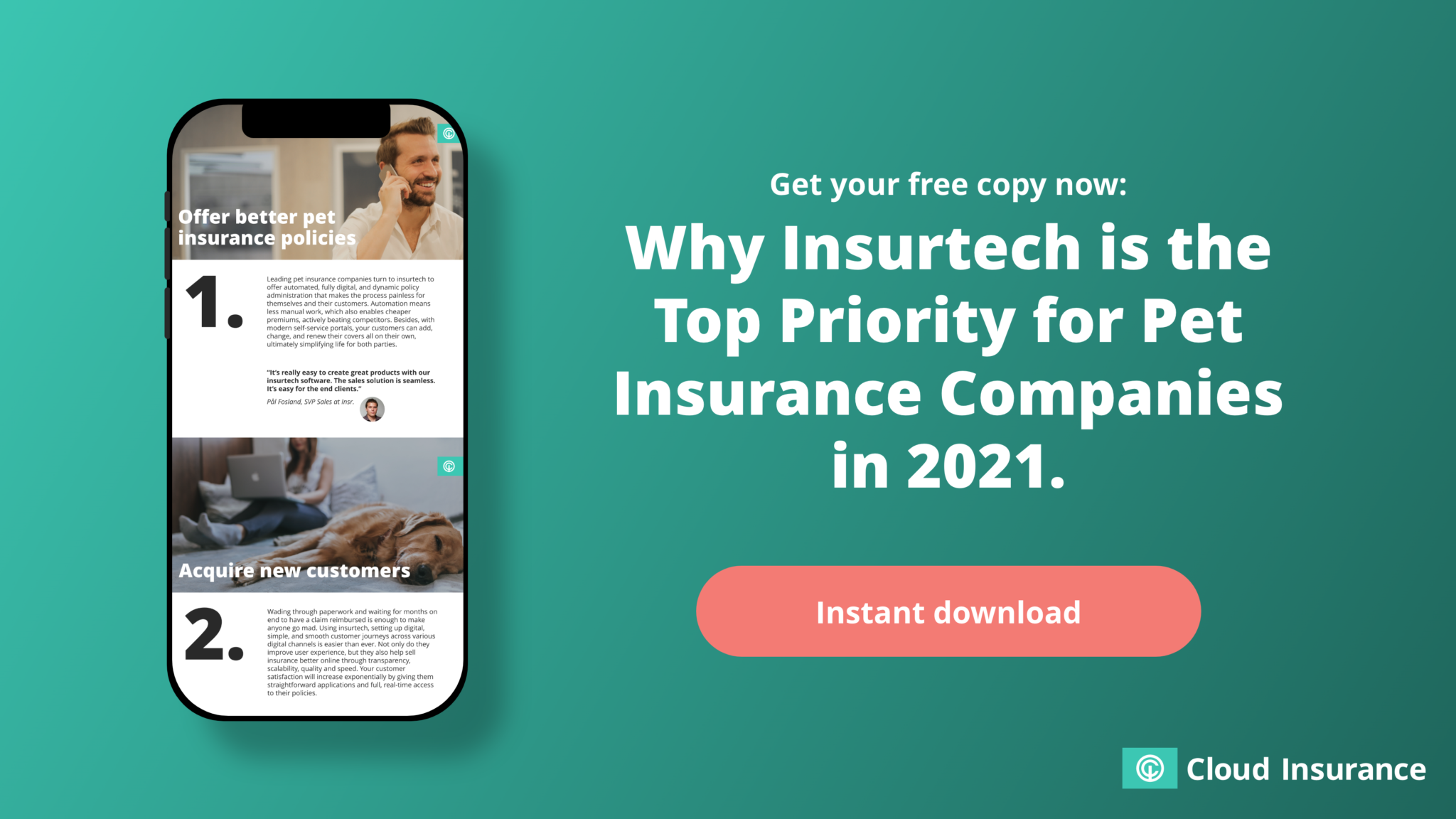 Why insurtech is the top priority for pet insurance companies in 2021n