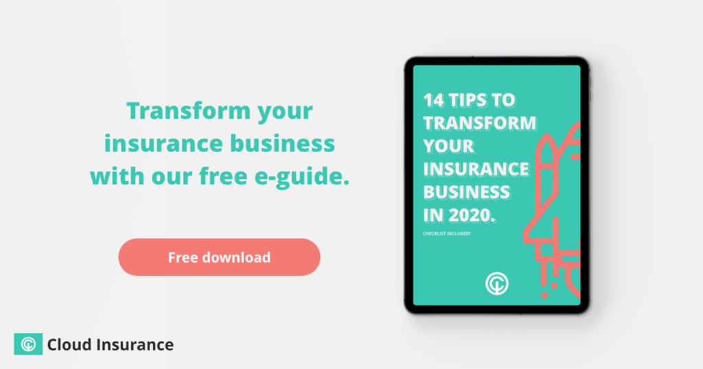 Transform your insurance business with our free e-guide.
