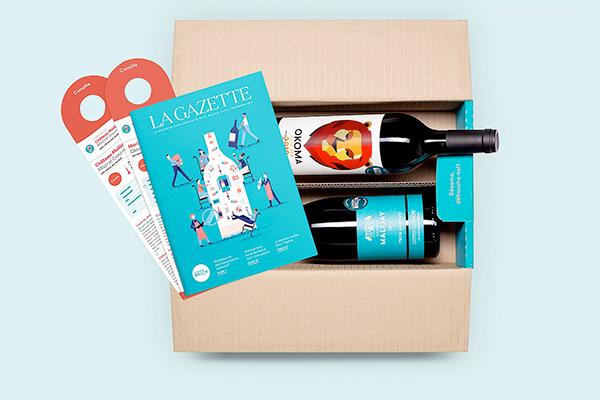 D'un univers élitiste, normé et très institutionnalisé, comment réinventer un service complet et global pour réenchanter l'univers du vin (Le Petit Ballon, design © CosaVostra).
