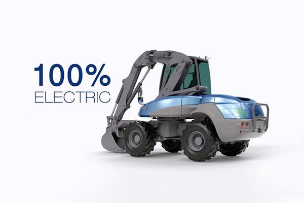 Un design industriel au coeur de la stratégie pour créer des engins de construction made in France, 100% électriques, compacts, multi fonctionnels et orientés vers les processus de travail innovant et les plus hautes exigences de qualité (Mecalac).