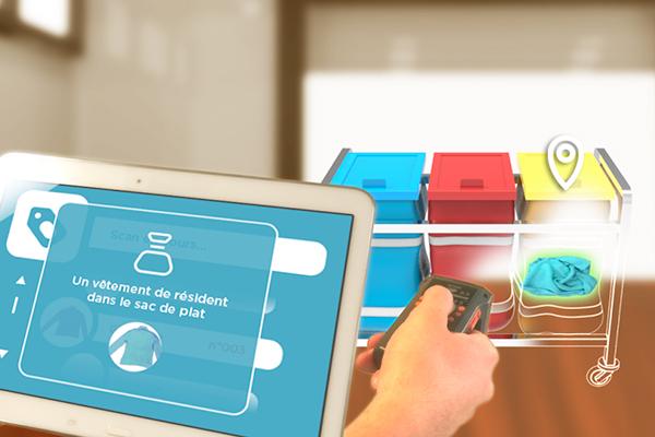Comment allier haute technologie et valeur d'usage pour les personnes âgées, et créer un service innovant de linge connecté pour les EPHAD ? (Ubiquid)
