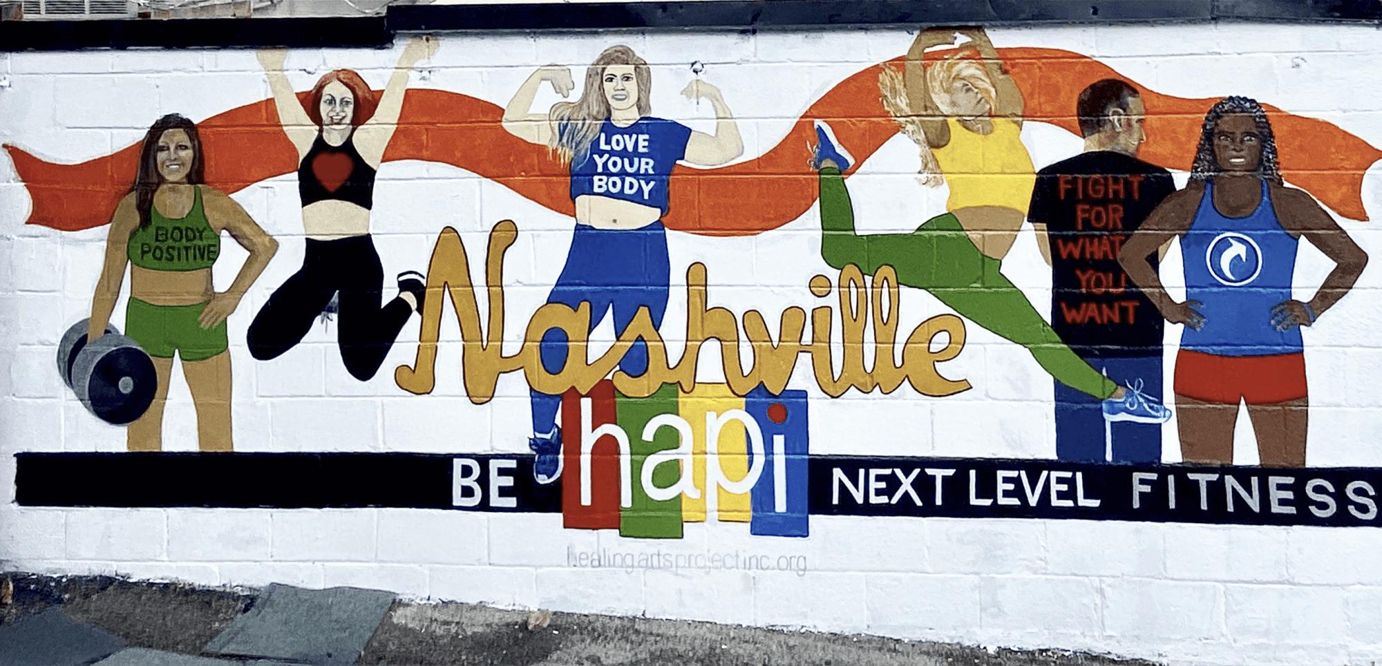 Dani D Nashville mural