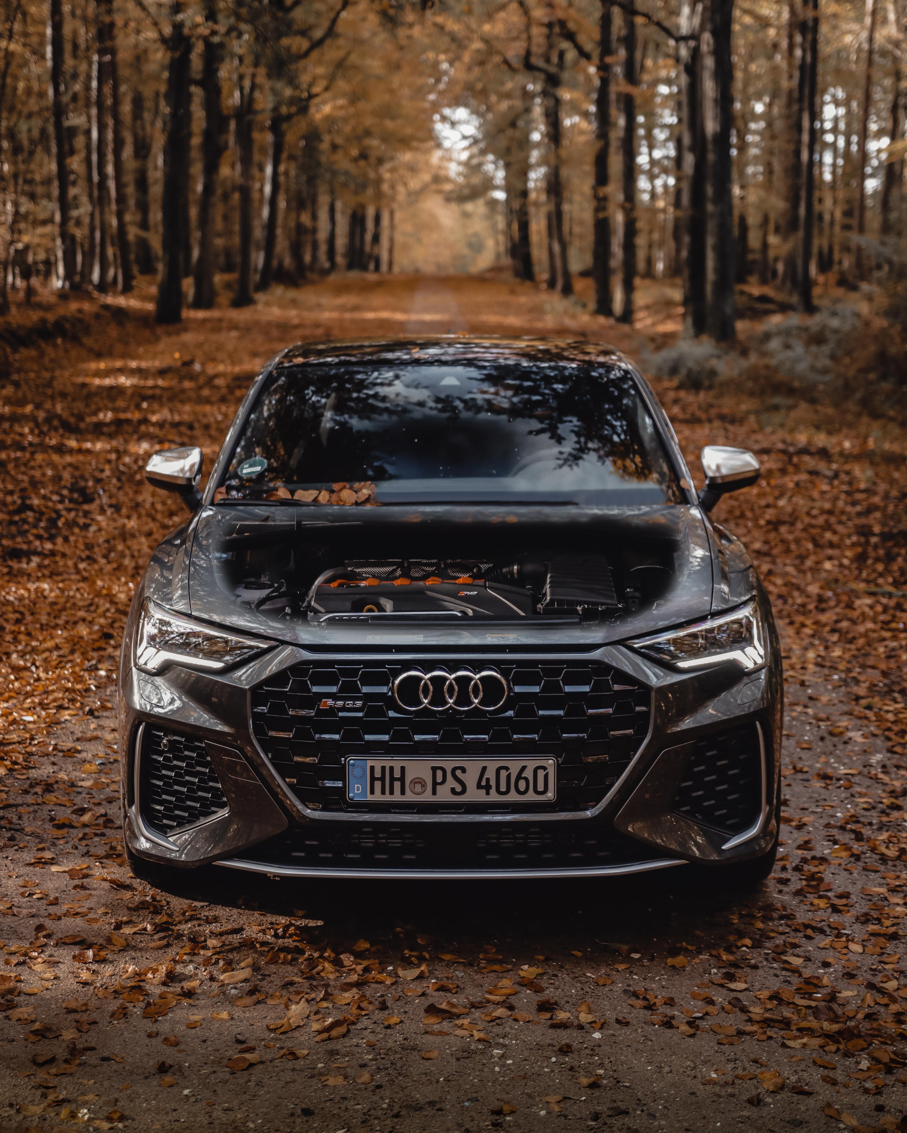 Audi RSQ3 im Hamburger Wald