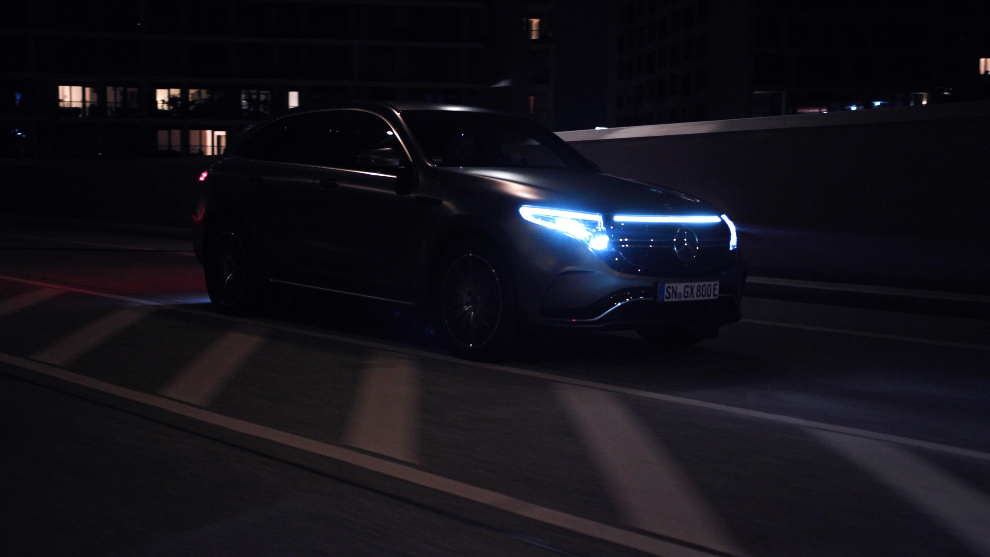 Mercedes EQC 400 Social Media Clip Produktion Werbefilm