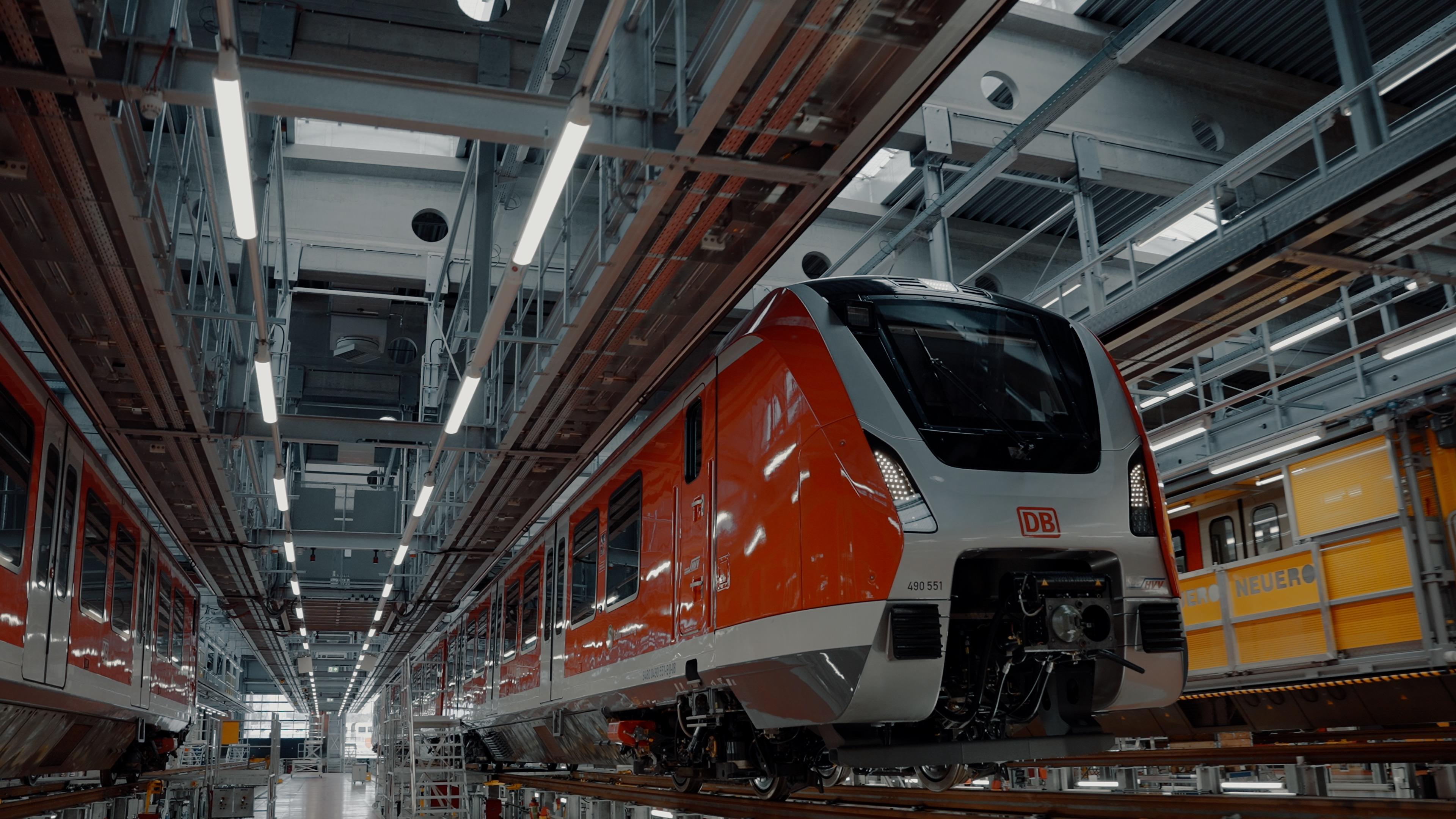S Bahn Hamburg ET490 Social media Produktion Filmproduktion