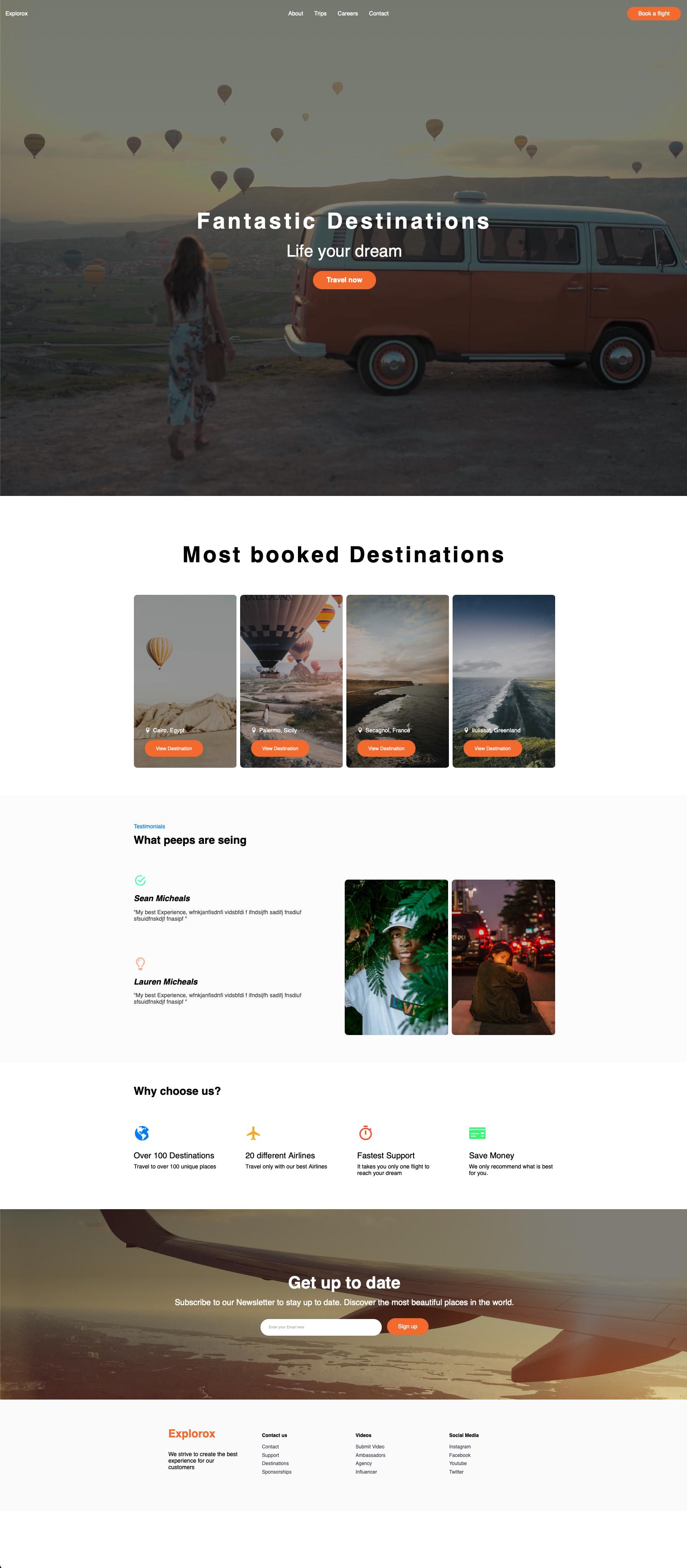 webdesign web development website mock up
