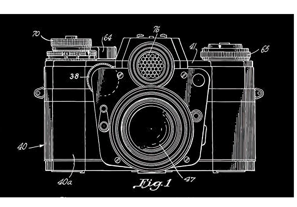 Kamera patent Hintergrund