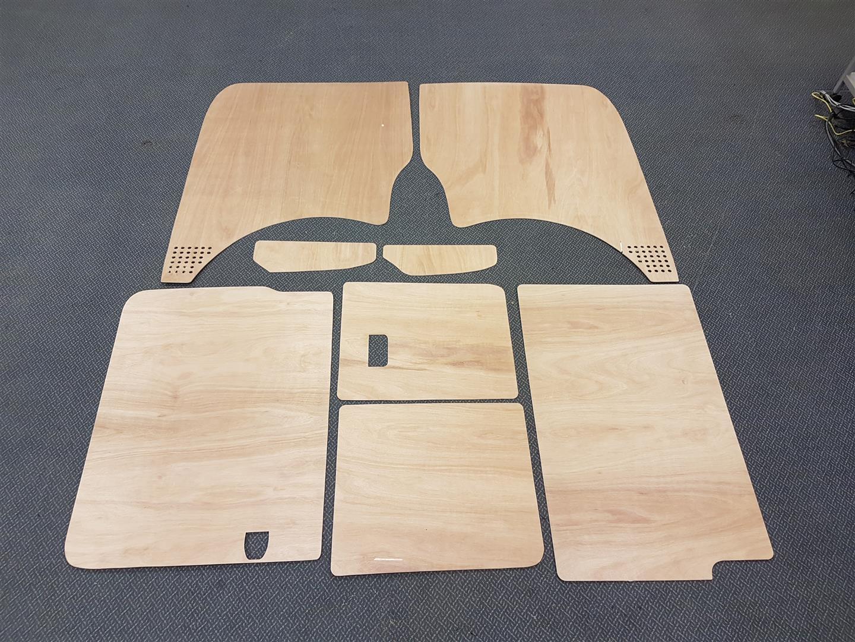 SWB T5 & T6 Plywood kit - Barndoor