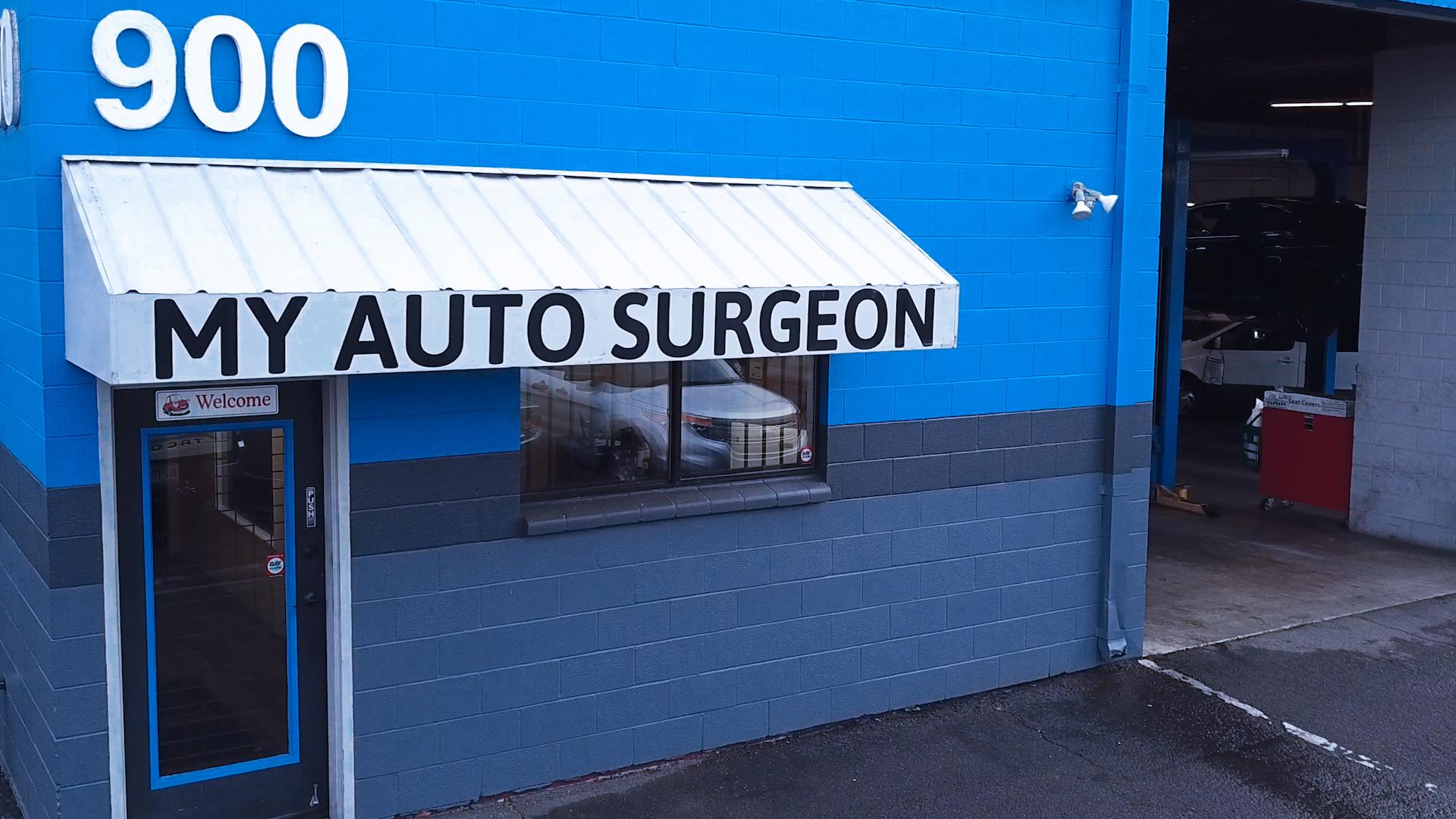 Roseville Auto Shop Location
