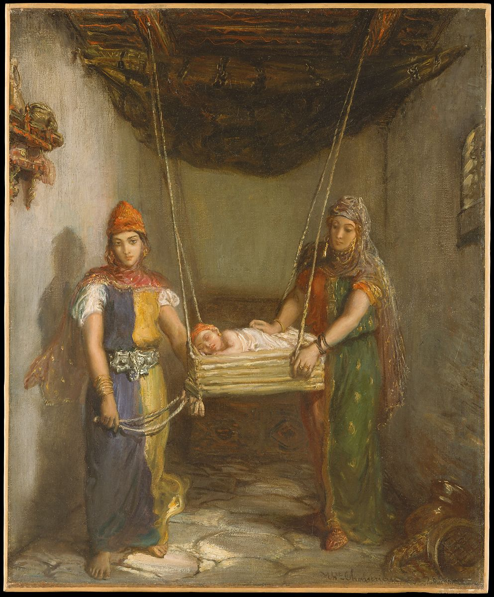 Théodore Chassériau: Scene in the Jewish Quarter of Constantine, 1851