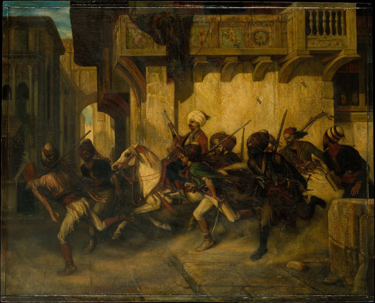 Alexandre-Gabriel Decamps: The Turkish Patrol