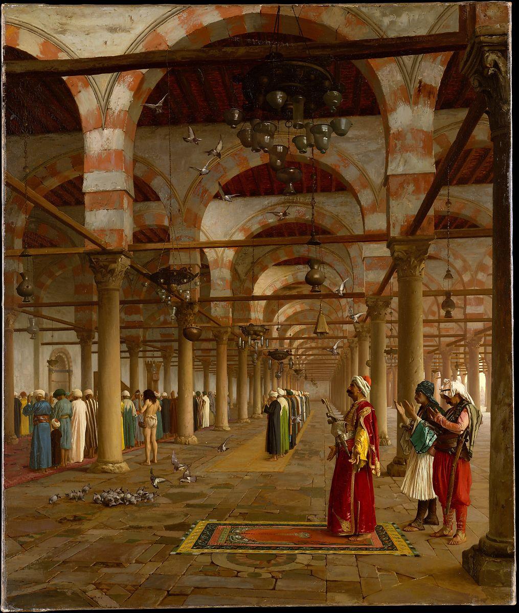 Jean-Léon Gérôme: Prayer in the Mosque, 1871