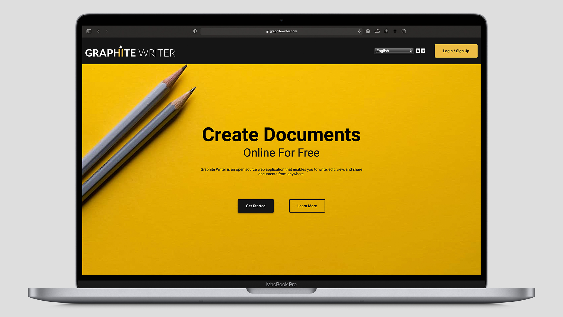 Graphite Writer Home Page