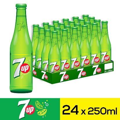 سفن اب مشروب غازي زجاجات ٢٥٠مل