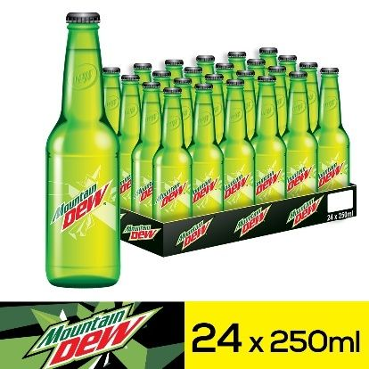 مونتن ديو مشروب غازيزجاجات ٢٥٠مل