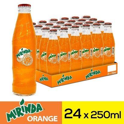 ميراندا مشروب غازي برتقال زجاجات ٢٥٠مل