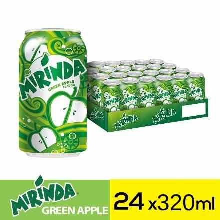 ميراندا مشروب غازي تفاح علب ٣٢٠مل